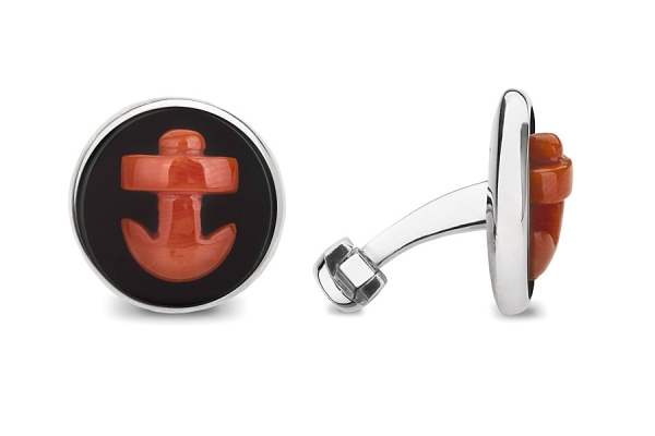 CORAL ANCHORS WITH ONYX