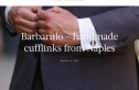 Barbarulo - handmade cufflinks from Naples - by SMARTORIAL